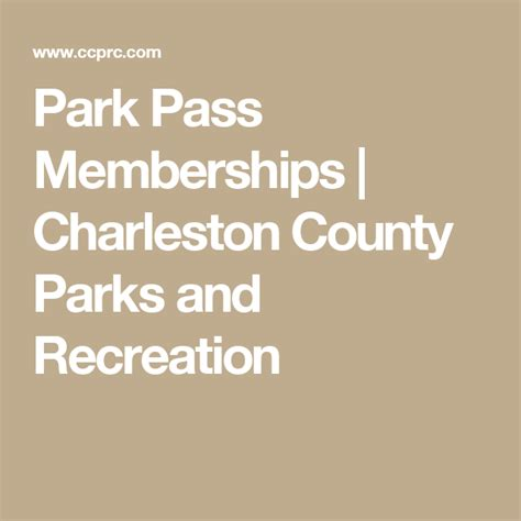 Enter easily with your mobile parking pass. Park Pass Memberships   Charleston County Parks and ...