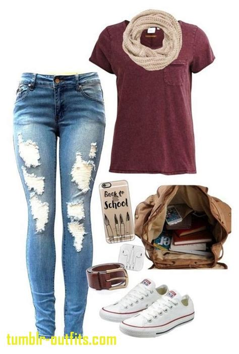 Beautiful Cute Outfits for the First Day Of Middle School | Tumblr Outfits