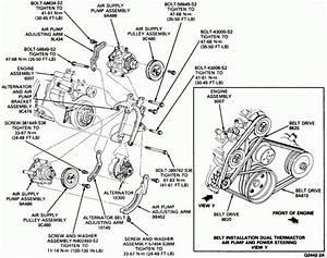 Ford 7 Engine Belt Diagram Di 2020