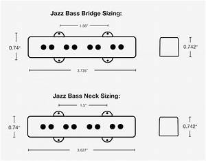 Split Jazz Bass Pickups By Lindy Fralin  Noiseless Jazz
