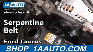 How To Replace Serpentine Belt 01