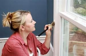 Peinture Encadrement Fenetre Interieur : pinta los marcos de puertas y ventanas ~ Premium-room.com Idées de Décoration
