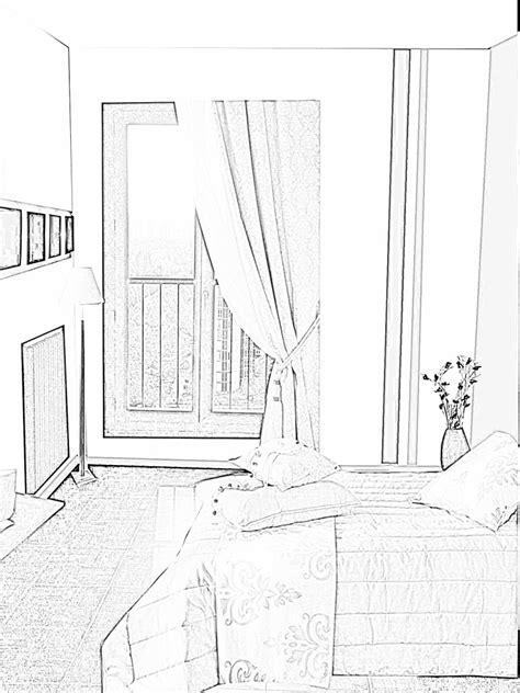 dessin de chambre dessins