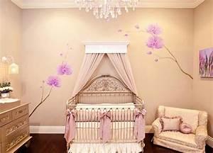 deco chambre bebe le voilage et le ciel de lit magiques With chambre bébé design avec livraison fleurs luxe