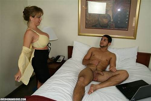 Stepmom Giving Me Spunky Masturbation #Handjob #From #Stepmom