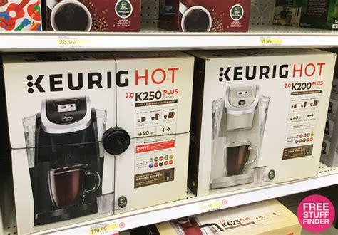 Shop for coffee makers keurig online at target. *HOT* $66.49 (Reg $120) Keurig K200 Coffee Maker + FREE Shipping (REDCard)