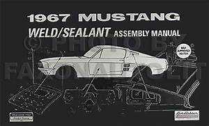 1967 Ford Mustang  U0026 Shelby Vacuum Schematic Manual Reprint