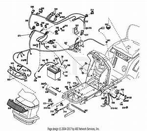 Troy Bilt 13096 13 5hp Hydrostatic Ltx Tractor  S  N