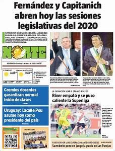 Peri U00f3dico Diario Norte  Argentina   Peri U00f3dicos De Argentina  Edici U00f3n De Domingo  1 De Marzo De
