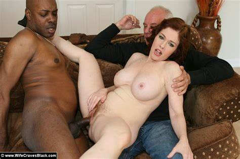 Tranny Craves For A Monster Penis Interacial Screwed