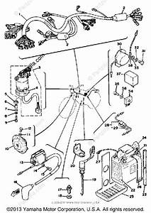 Yamaha Motorcycle 1978 Oem Parts Diagram For Electrical