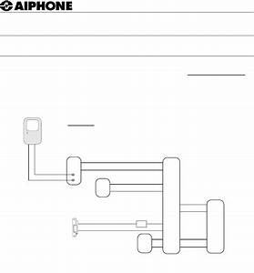 Aiphone Home Security System 0102bkjd User Guide