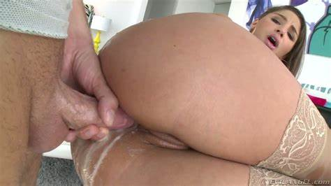 Kathy Fucked Her Booty Gaped Wide Open Then Eats Nut