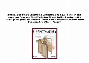 P D F Epub Library Illustrated Cabinetmaking How To Design