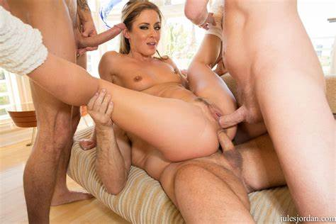 Hottie Blond Pornstar Bareback Foursome Mff wallpaper sheena shaw foursome, spread, smile, blonde, dp