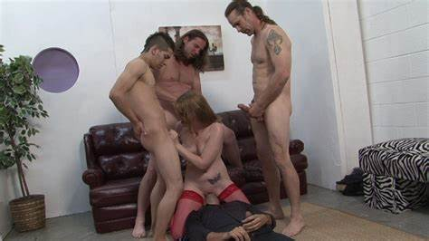 Ariel Stonem Interracial Cumshot Gang