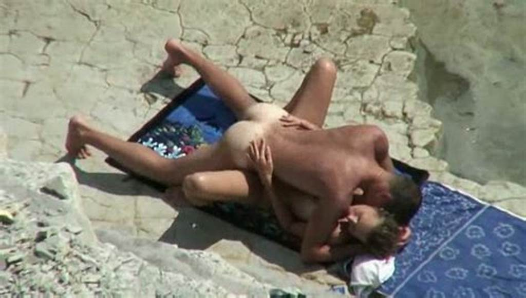 #Careless #Horny #Couple #Caught #Fucking #On #Beach #On #My #Spy