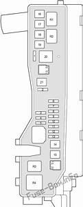 Fuse Box Diagram Toyota Corolla Verso  Ar10  2004