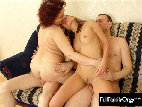 Seductive Pink Supersize Mama Handsome Seduces Stepmother And Aunt With Captions