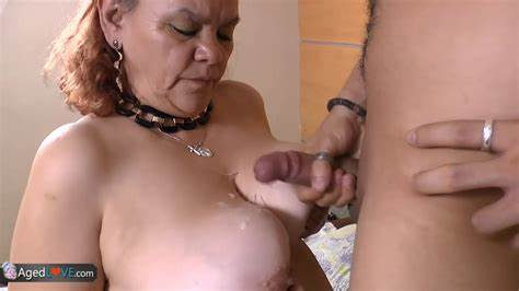Agedlove Grayhaired Grannie With Large Titties