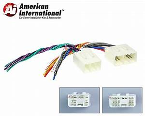 Mazda Car Stereo Cd Player Wiring Harness Wire Aftermarket