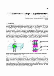 Pdf  Josephson Vortices In High Tc Superconductors