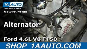 How To Install Replace Alternator 2004