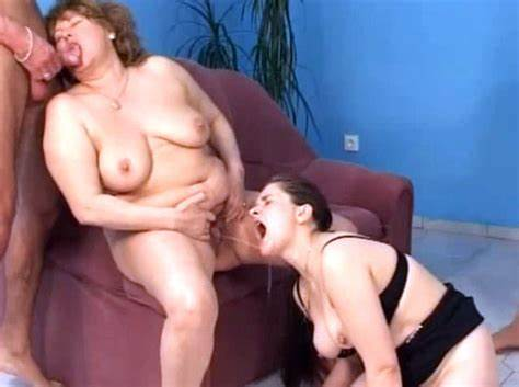Shaving And Peeing Of Plump Babysitter