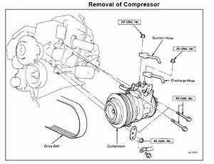 How To Replace Lexus  U0026 Toyota A  C Compressor