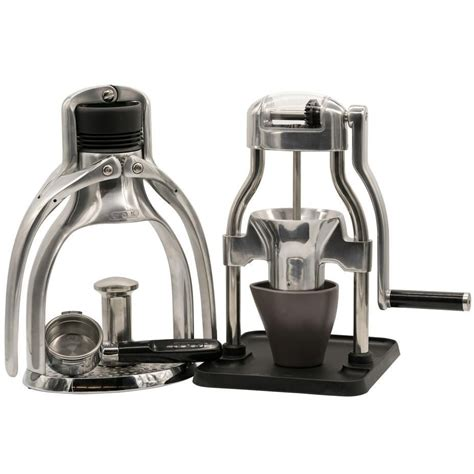 Each rok coffee grinder also ships with a metal cup/tamper that can be used to measure whole beans, catch ground coffee, and tamp the portafilter of the rok espresso maker. ROK Espresso Maker GC and ROK Coffee Grinder GC Bundle #espressomaker ROK Espresso Maker GC and ...