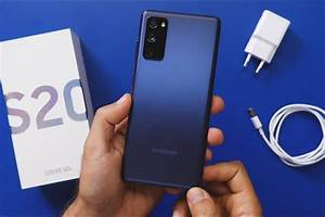 Samsung Galaxy S20 Fe  Unboxing And Hands-on