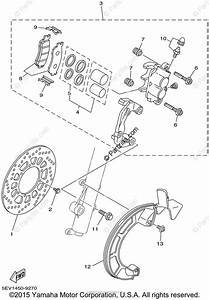 Yamaha Motorcycle 2002 Oem Parts Diagram For Front Brake