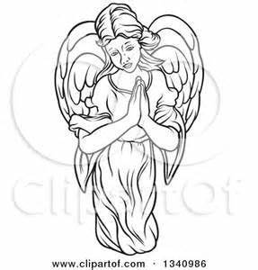 Angel Clipart Free Black and White - Yahoo Image Search ...
