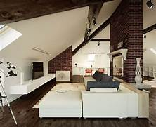 Loft Living Room Ideas Living Room In Loft With Brick Walls Lively Living Room How To Create A Spring Fresh Living Room This 20 Beautiful Attic Living Room Design Ideas Rilane Feature Walls Attic Door BLOG Living Room Attic