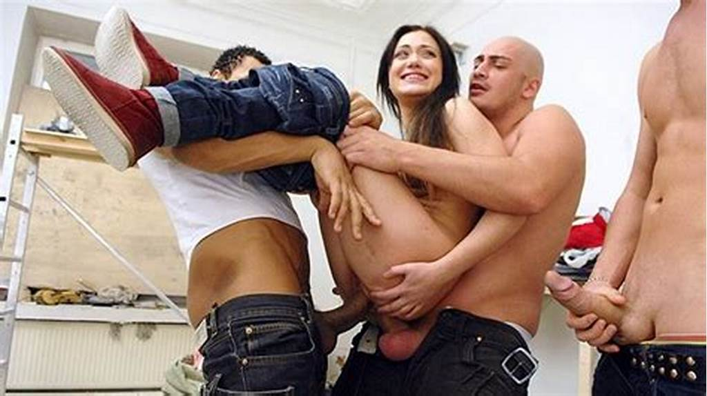 #A #Group #Of #Builders #Hard #Fucked #Woman