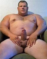 Fat guy whit big cock