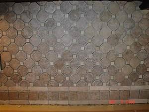 Travertine tile backsplash ideas for Travertine backsplash tile ideas