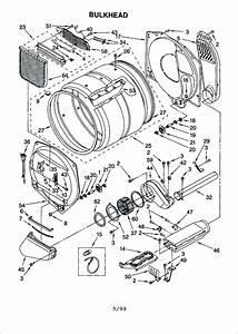 Kenmore Elite He4 Gas Dryer Parts