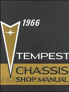 1966 Tempest  Lemans   U0026 Gto Wiring Diagram Manual Reprint