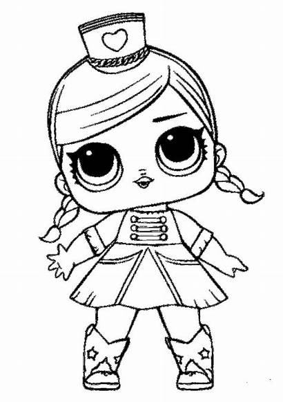 Coloring Pages Printable Lol Dolls Coloringfolder Doll