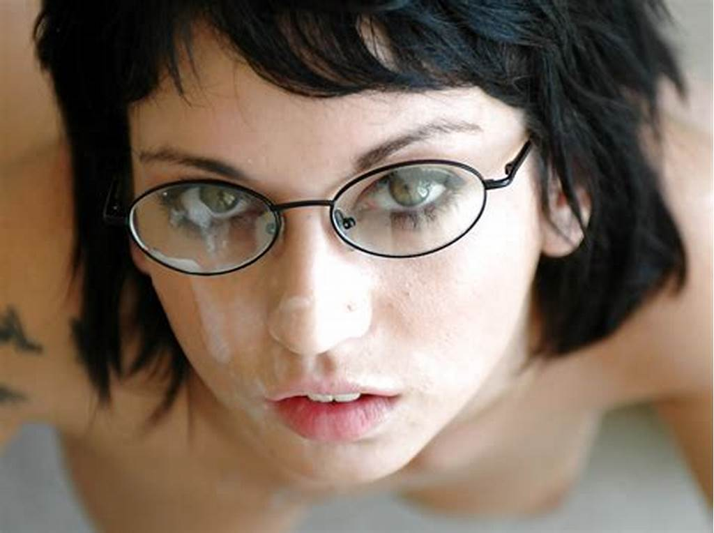 #Cute #Coed #In #Glasses #Riley #Evans #Gets #Her #Shaved #Pussy