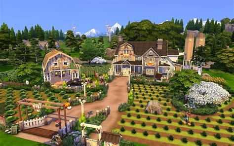 """Find the best offers for properties in sims. ŞΔŘΔĦ 👀 Sims 4 Creations on Twitter: """"""""Farm Life"""" ♥ ID: SarahAmina #ShowUsYourBuilds ..."""