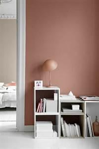 couleur mur salon tendance merveilleux quelle peinture With nice idee couleur mur salon 7 la couleur saumon les tendances chez les couleurs d