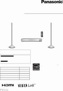 Panasonic Home Theater System Sc