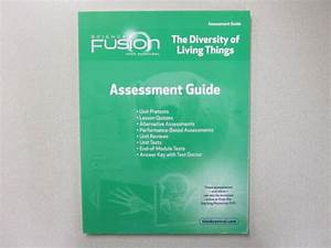 Science Fusion The Diversity Of Living Things Assessment