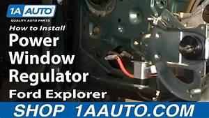 How To Replace Front Window Regulator 91-01 Ford Explorer