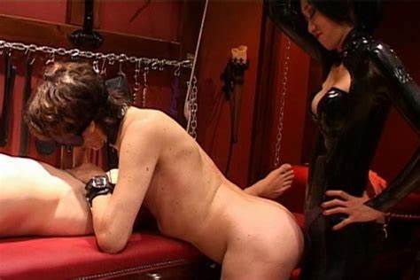 Pornstar Pegging His Hole Dildo Humiliation Japan Mistress Laughs Make Dream