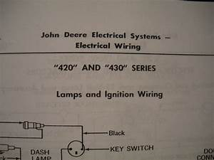 Jd 420 Electrical