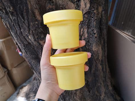 ขายส่ง-กระปุกโยเกิร์ต 100 กรัม สีเหลือง ⋆ ร้านดีเบล www ...