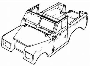 Land Rover Series 3 - Chassis And Body Diagrams